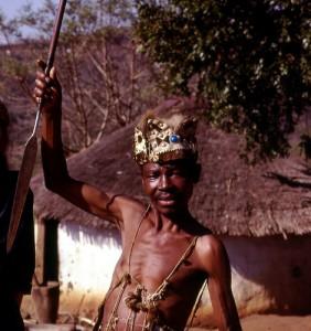 המנהיג הרוחני של שבט הקלהרי. צילום: gbaku